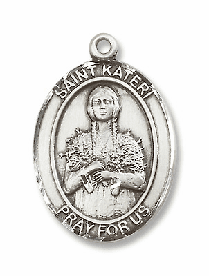 St Kateri Tekakwita Patron Saint of Environment Jewelry & Gifts
