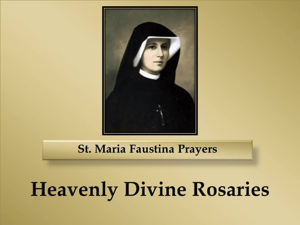 St. Maria Faustina Prayers
