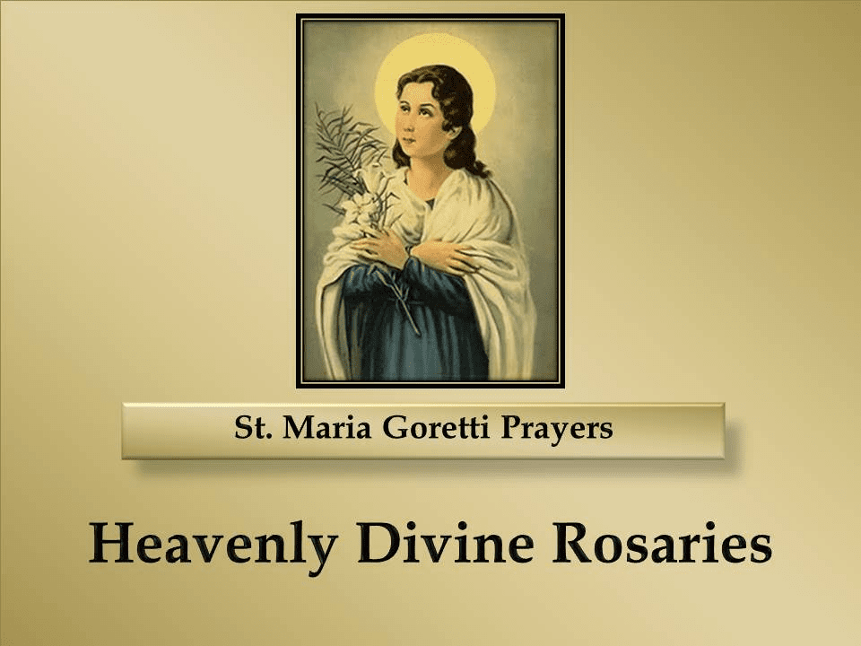 St. Maria Goretti Prayers