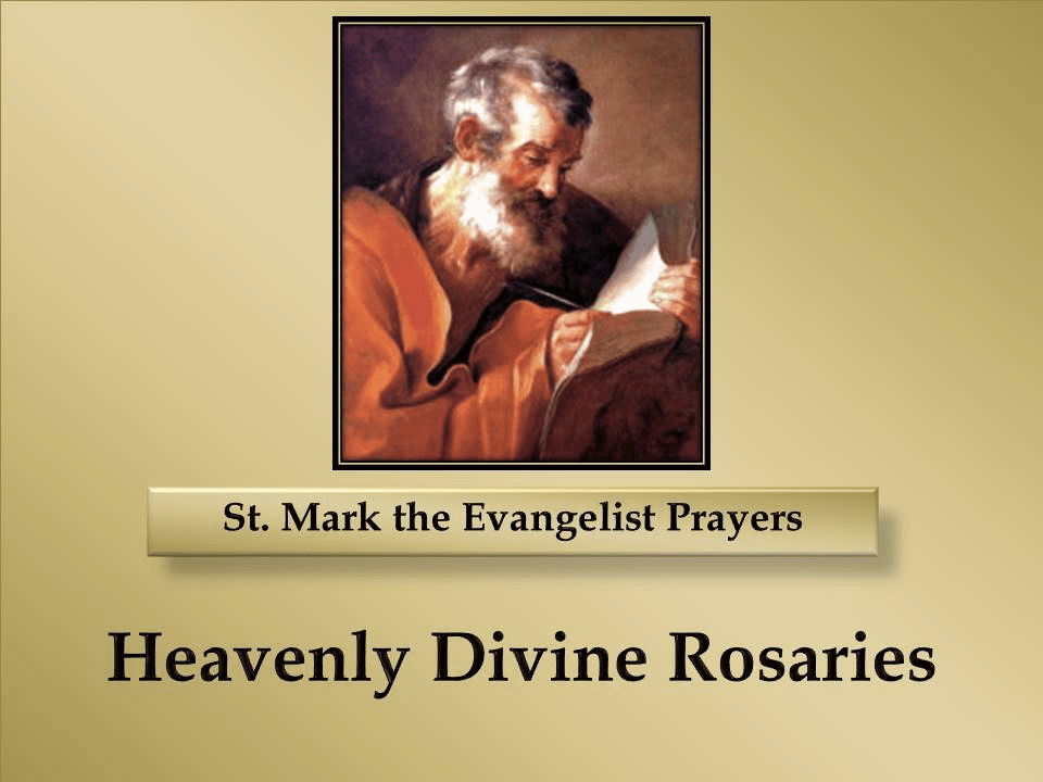 St. Mark the Evangelist Prayers