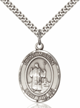 St Maron Patron Saint Medal Jewelry and Gifts