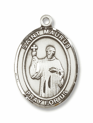 St Maurus Patron Saint of Cobblers and Cold Jewelry & Gifts