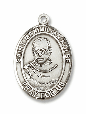 St Maximilian Kolbe Patron Saint for Drug Abuse Jewelry & Gifts
