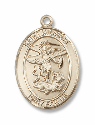 St Michael 14kt Gold Jewelry