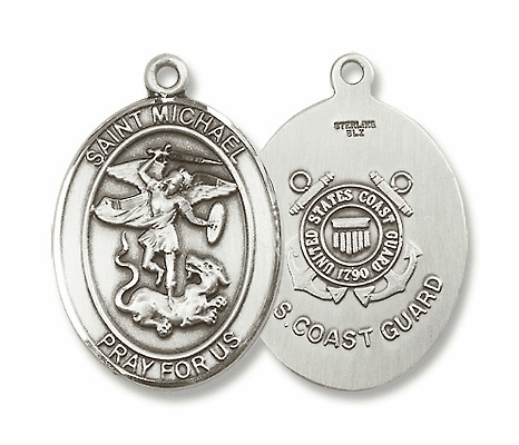 St Michael Military Sterling Silver Jewelry