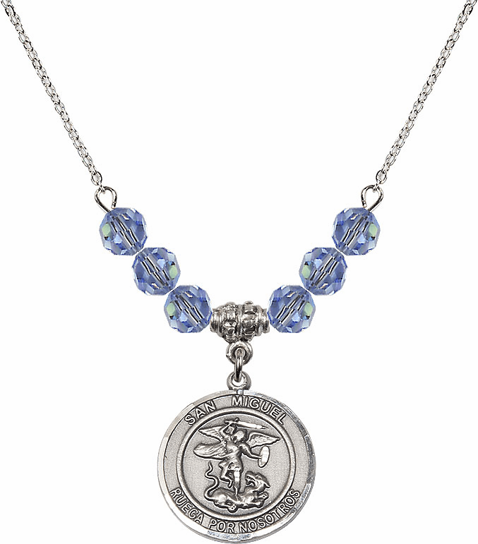 St Michael the Archangel Beaded Necklaces