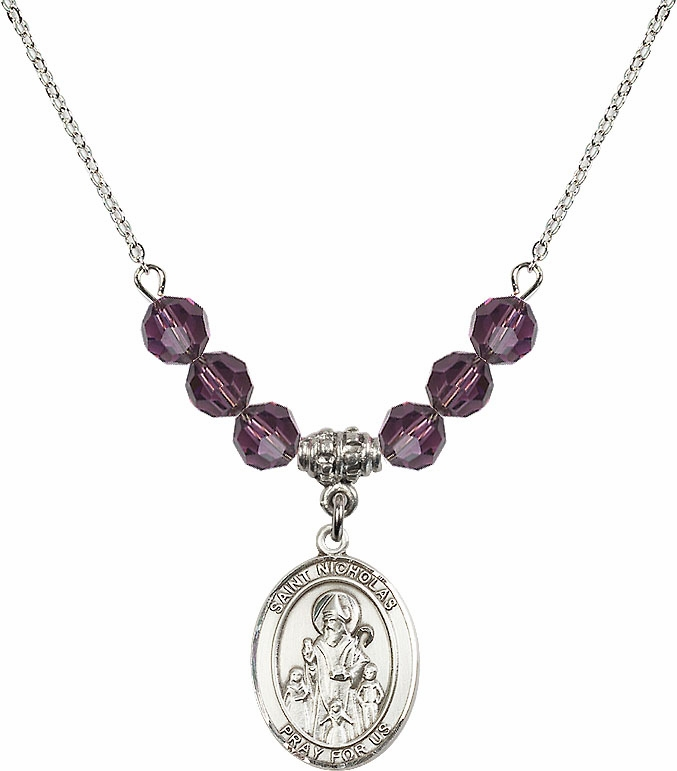 St Nicholas Swarovski Necklace by Bliss Mfg - More Colors