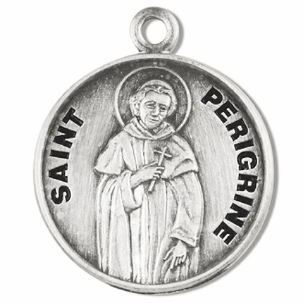 St Peregrine Laziosi Medals and Jewelry