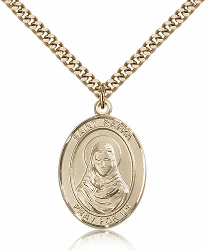 St Rafka 14kt Gold-Filled Patron Saint Pendant Necklace by Bliss