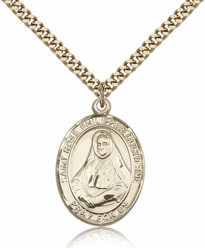 St Rose Philippine Duchesne 14kt Gold-Filled Patron Saint Necklace by Bliss