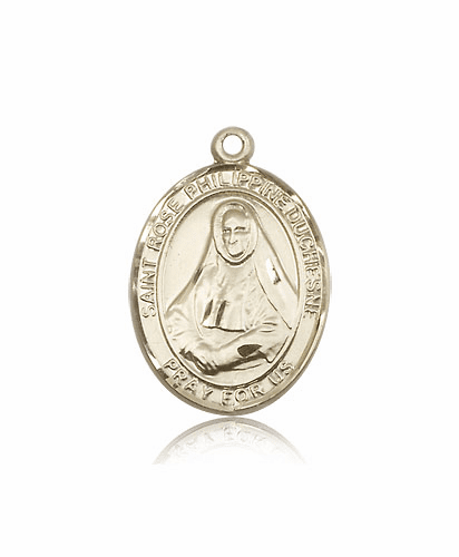 St Rose Philippine Duchesne 14kt Gold Patron Saint Catholic Pendant by Bliss