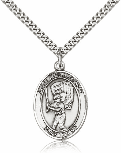 St Sebastian Sterling, Pewter and Silver-filled Sports Jewelry