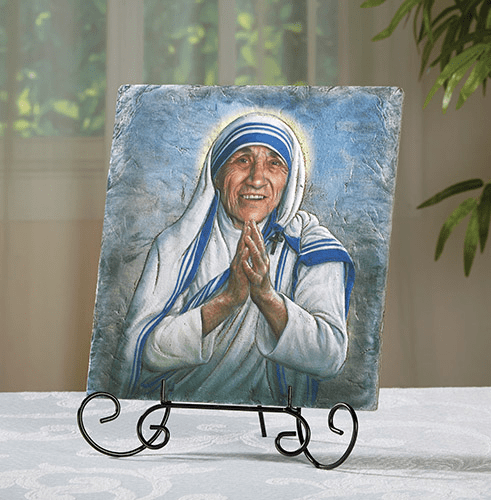 St Teresa of Calcutta Marco Sevelli Plaque by Sacred Traditions