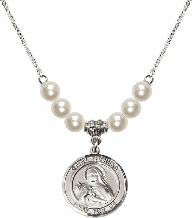 St Theresa Charm Beaded Necklaces