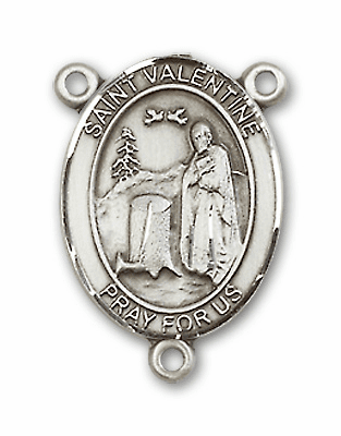 St Valentine of Rome Patron Saint Rosary Center by Bliss