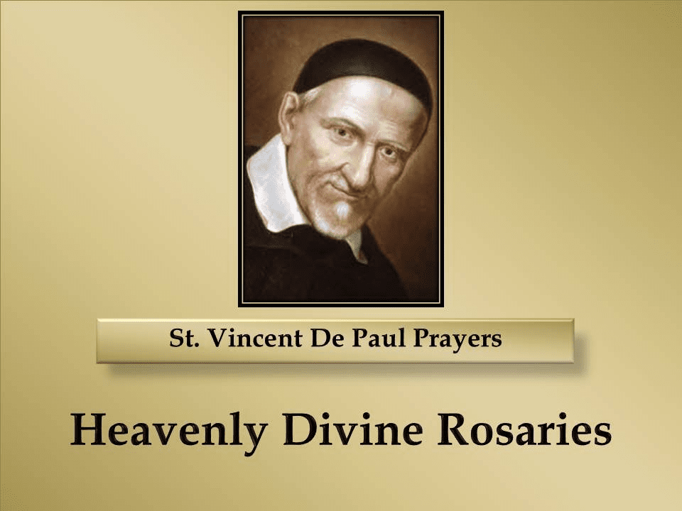 St. Vincent De Paul Prayers