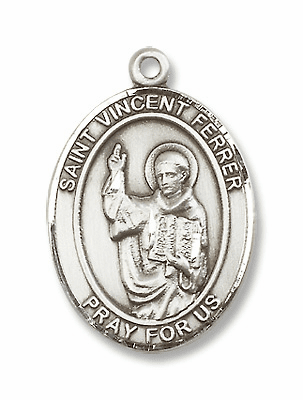 St Vincent Ferrer Patron Saint of Construction Workers Jewelry & Gifts