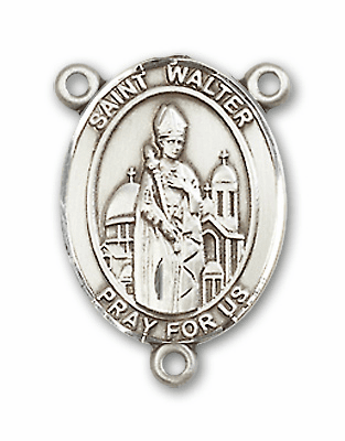 St Walter of Pontnoise Saint for POWs Rosary Center by Bliss