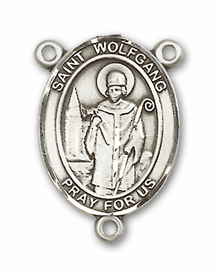 St Wolfgang Patron Saint Rosary Center by Bliss