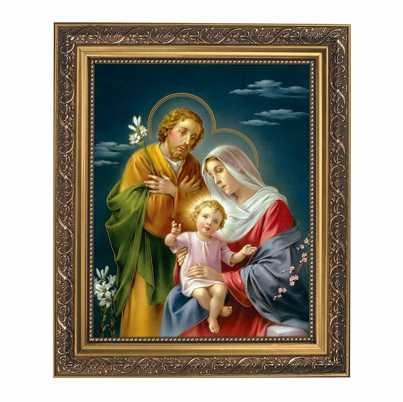The Holy Family Framed Print Picture by Gerffert