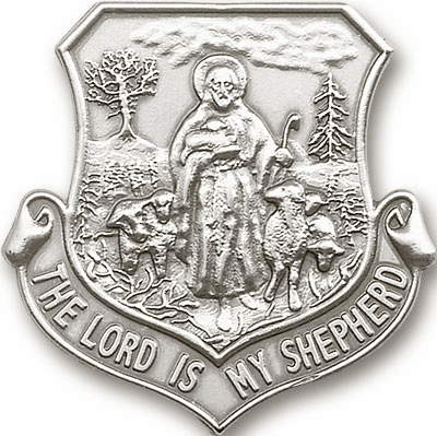 The Lord is My Shepherd Auto Visor Clip by Bliss