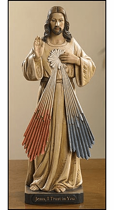 Toscana Collection Jesus Divine Mercy Figurine Statue