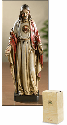 Toscana Sacred Heart of Jesus Statue by Avalon Gallery
