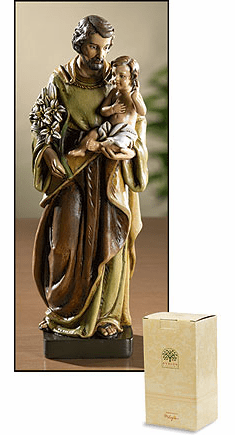 Toscana Saint Joseph with Child Statue by Avalon Gallery