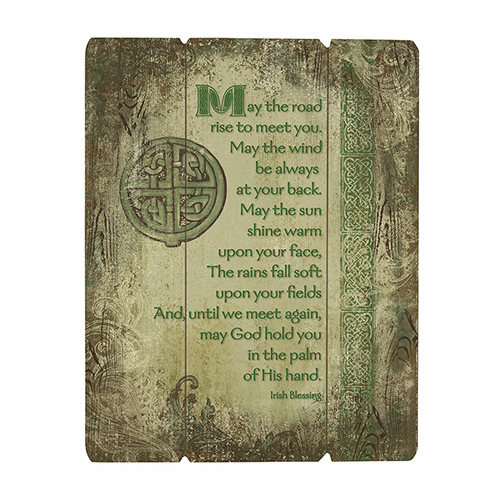 Traditional Irish Blessing Wood Pallet Sign by Gerffert