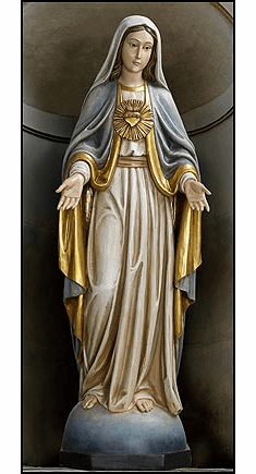 Val Gardena Immaculate Heart of Mary Church-Size Statue by Avalon Gallery
