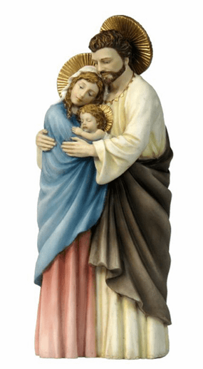 Veronese Standing Holy Family Statue