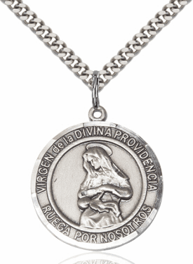 Virgen de la Providencia/Our Lady of Providence Spanish Necklace by Bliss