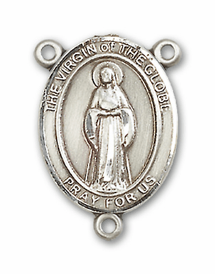 Virgin of the Globe Patron Saint Catholic Rosary Center by Bliss
