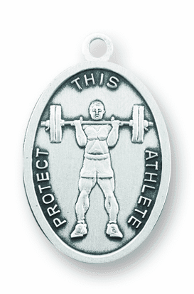 Weight Lifting Sports Necklace