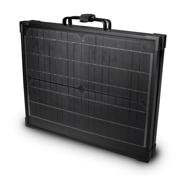 40 Watt Briefcase Solar Panel and 8 Amp Charge Controller
