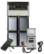 6.3 kWh Home Energy Storage Kit - Featuring the Yeti 1500X