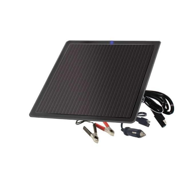 7.5 Watt Solar Battery Trickle Charger