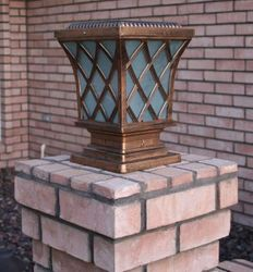 Base Mounted Solar Deck Lights, Rail and Step Lights