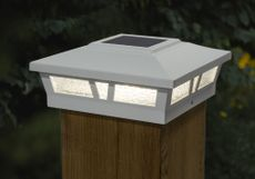Classy Caps Aluminum Oxford Solar Post Cap - For 6 x 6 Square Posts