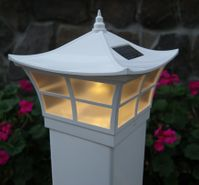 Classy Caps Ambience Solar Post Cap Light for 4x4 or 5x5 Posts
