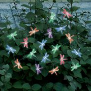 Color Changing Dragonfly Solar String Lights