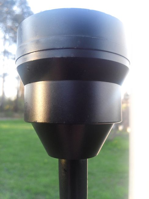 Commercial CREE Solar Flagpole Light - Flexible Head