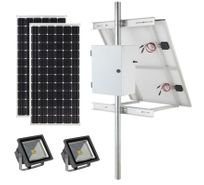 Commercial Solar Sign Lights & Landscape Lighting