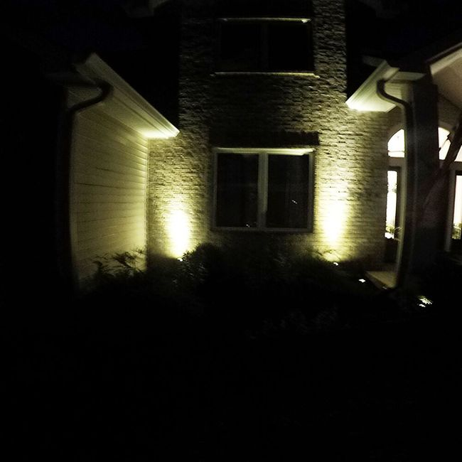 Dual Solar Light with Color Selectable LED and Spot/Flood Lens - Stainless Steel