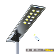 Earthtech Products 100 Watt LED Ultra High Powered Solar Street Light - 16,000 Lumens