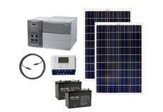 Earthtech Products 2400 Watt Hour Solar Generator Kit with 200 Watts of Solar Power for Homes and Off Grid