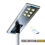 Earthtech Products 60 Watt LED Ultra High Powered Solar Street Light - 9600 Lumens