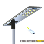 Earthtech Products 80 Watt LED Ultra High Powered Solar Street Light - 12,800 Lumens