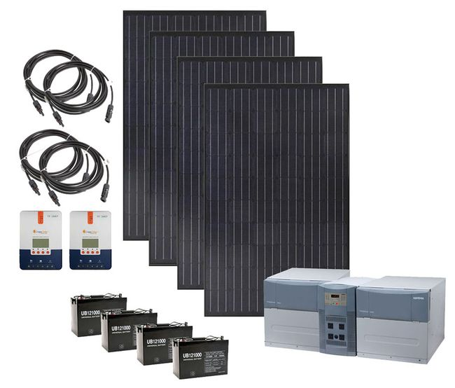 Earthtech Products Max 4800 Watt Hour Solar Generator with 1200 Watts of Solar for Home and Off-Grid Back Up Power
