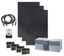 Earthtech Products Max 4800 Watt Hour Solar Generator with 900 Watts of Solar for Home and Off-Grid Back Up Power
